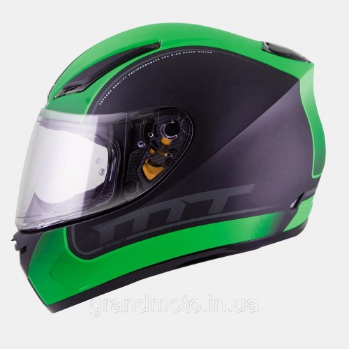 REVENGE BINOMY gloss black/white/fluo green