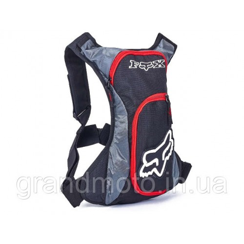 c39710b3694a Вело мото рюкзак с гидратором Fox Red | GrandMoto